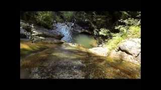 滝すべりin鹿ヶ壷関西兵庫県/GoProHERO3で撮影川遊び、飛び込みも出来るスポット!