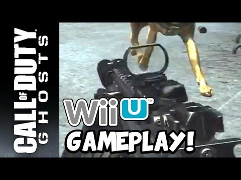 call of duty ghosts wii u gameplay