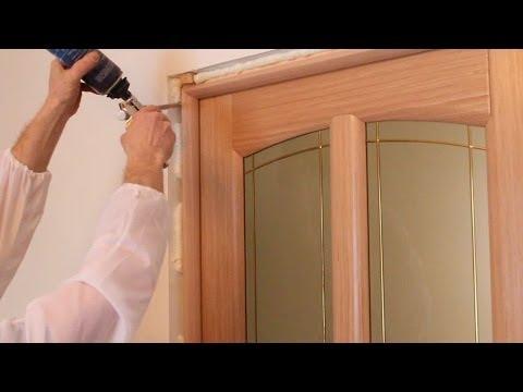Как правильно установить межкомнатную дверь - смотреть видео