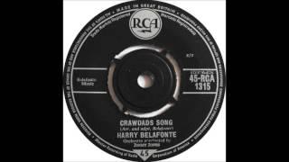 HARRY BELAFONTE - CRAWDAD'S SONG [UK-RCA VICTOR RCA1315] 1962