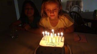 VLOG. День рождения. Полине 8 лет.