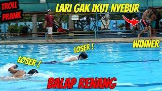 SUPER POWER RENANG SECEPAT KILAT Ft.Reang Project   Prank Indonesia