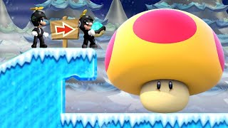 8Forrest's Super Mario Bros. Wii (Mr. M & Mr. L) - World 3 - 2 Player Co-Op Walkthrough