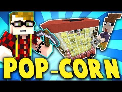 LA MACCHINA PER I POP CORN & UN SERPENTE BIZZARRO!! - Minecraft Build Battle