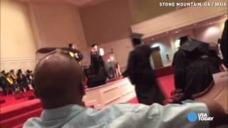 Racial Remark During High School Graduation Shocks Crowd