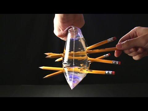 10 thí nghiệm khoa học với chất lỏng