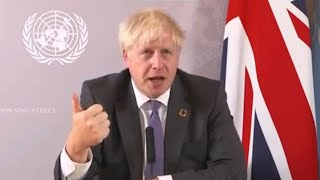 video: Boris Johnson warns against 'napping' on climate change