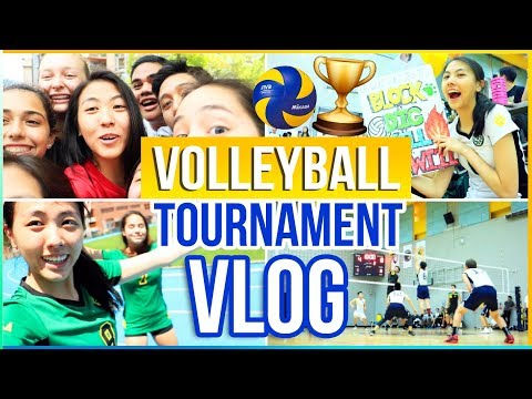VOLLEYBALL TOURNAMENT VLOG 2017: TAIPEI TRAVEL DIARY (IASAS) | Meet My Volleyball Team! Katie Tracy
