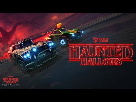 Rocket League® - Haunted Hallows featuring Stranger Things