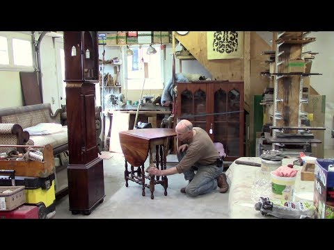 Restoring A Gateleg Table - Thomas Johnson Antique Furniture Restoration