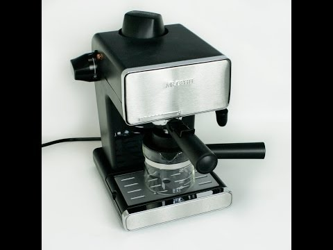 , Mr. Coffee Espresso Maker, BVMC-ECM260R, Red