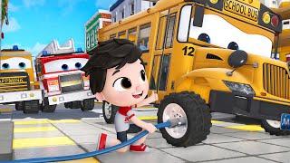 John Jacob Kids Car Repair   Kids Bath Song    Choo Choo Train #appMink Kids Song & Nursery Rhymes