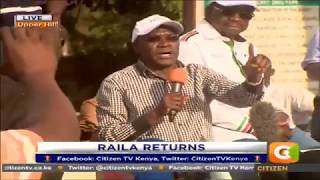We will never leave you because you[Raila] are right- Khalwale