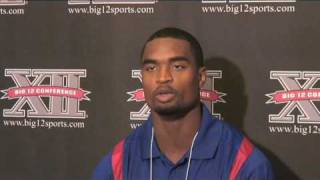 KU safety Darrell Stuckey talks about the leaders on the 2009 Jayhawks