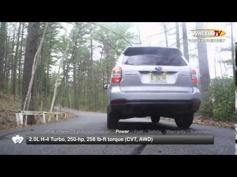 2015 Subaru Forester Test Drive