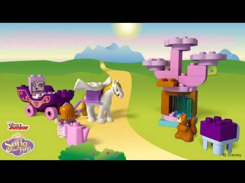 Vidéo LEGO Duplo 10822 : Le carrosse magique de Princesse Sofia