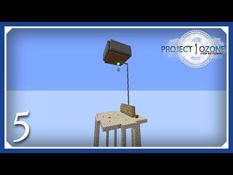 Project Ozone 3 Mob Farm + Auto Sifter Automation - смотреть онлайн
