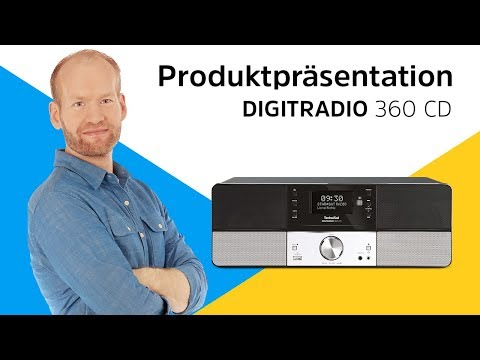 DIGITRADIO 360 CD   Eine Alternative zur klassischen Kompaktanlage.   TechniSat