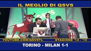 preview picture of video 'QSVS - I GOL DI TORINO - MILAN 1-1  - TELELOMBARDIA'