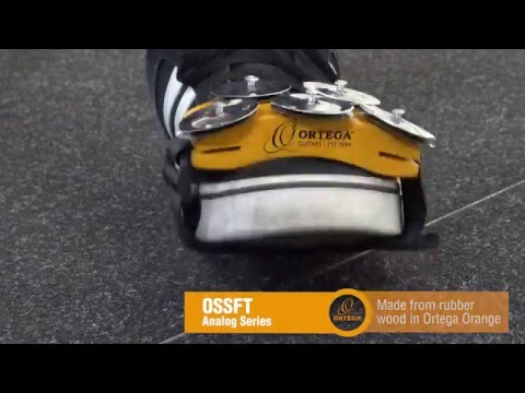 Ortega Guitars | OSSFT (Foot Tambourine) - Analog Series