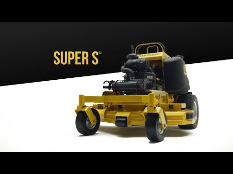 2019 Hustler Turf Equipment Super S 36 in. Kawasaki 19 hp in Russell, Kansas - Video 1