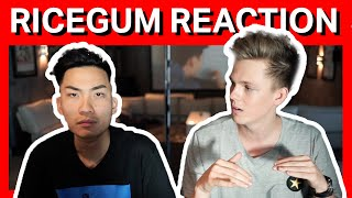 RICEGUM REACTS TO MY RAP SONG + EXTRA CLIPS