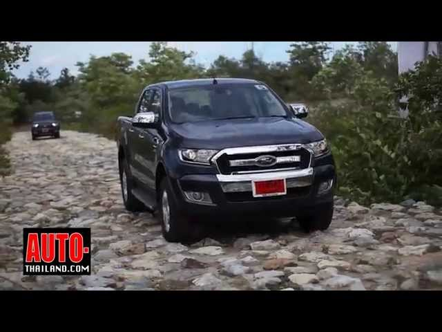 TestDrive New Ford Ranger 2015
