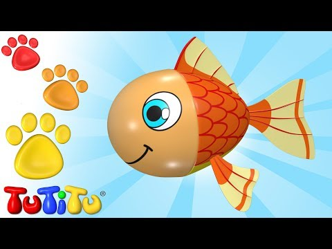 TuTiTu Animals | Animal Toys for Children | Fish and Friends