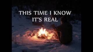 THIS TIME I KNOW IT'S REAL - Norman Saleet (Lyrics)