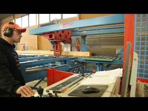 Výroba krovu na CNC stroji - DEK