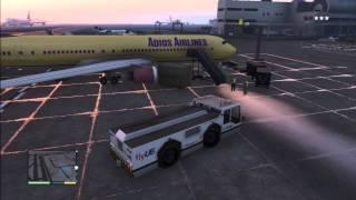 GTA V Fly a plane