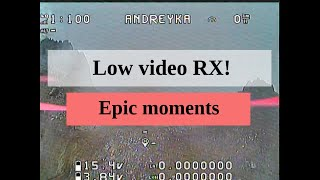 [FPV] Low Signal DVR moments   Drone freestyle