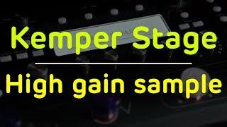 Kemper Stage high gain sample.