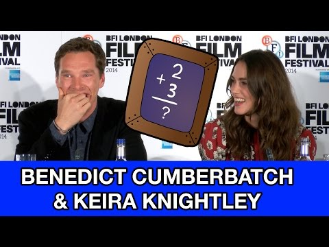 Benedict Cumberbatch & Keira Knightley Reveal How Bad They Are At Math & Crosswords! Mp3