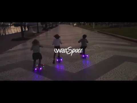 Patinete infantil con led iWatSpace Saturn iWat Motion