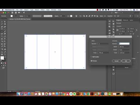 Adobe Illustrator - How to create Grids, Guides, and Gutters