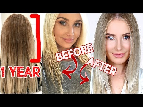 HOW I TRANSFORMED MY HAIR IN 1 YEAR!! | Lauren Curtis