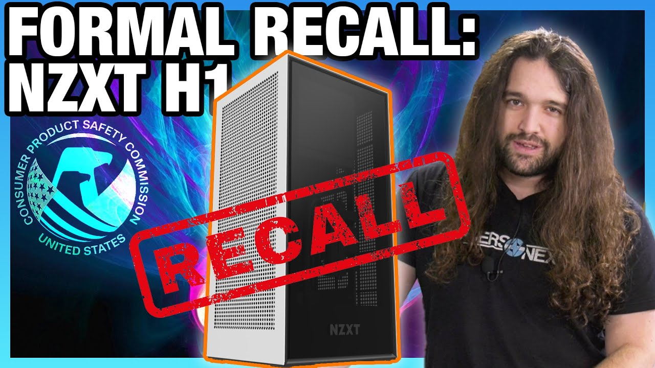 RIP NZXT H1 (For Now): Formal Recall by Consumer Product Safety Commission