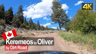 Backroad drive from Keremeos to Oliver in British Columbia 🇨🇦