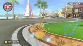 [MK8] Time Trial - Toad Harbor - 1:58.750 (French 7th)