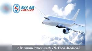 Air Ambulance in Siliguri with Latest Medical Equipment