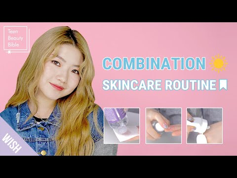 , title : 'Combination Acne Prone Skin 6 Step Morning Skincare Routine | GRWM | Teen Beauty Bible'