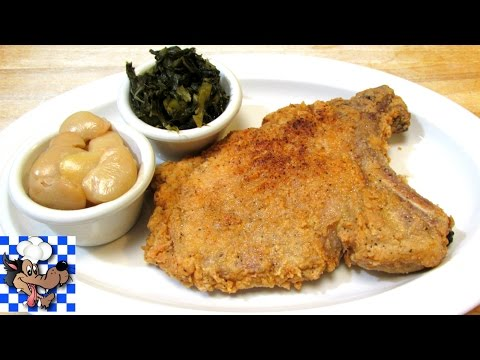 Video Southern Fried Pork Chops - Pork Chop Recipe
