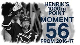 No. 56/100: Henrik Sedin