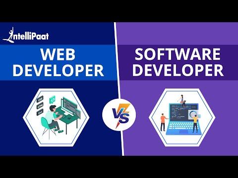 Web Development vs Software Development | Difference Web Development & Software Development