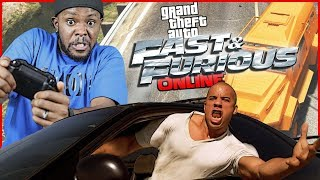 FAST N THE FURIOUS RELAY RACE! - GTA Online Gameplay
