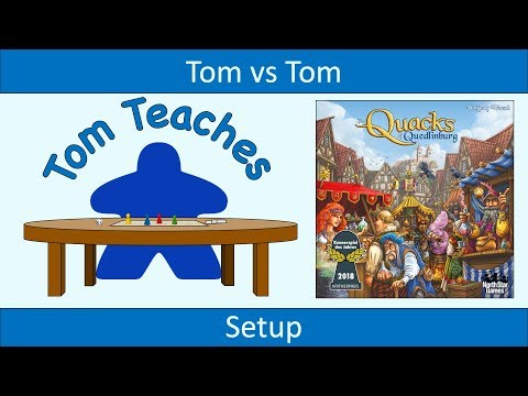 Tom Teaches The Quacks of Quedlinburg (Setup)