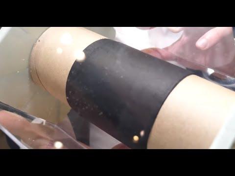Binder-free (100% carbon) electrode
