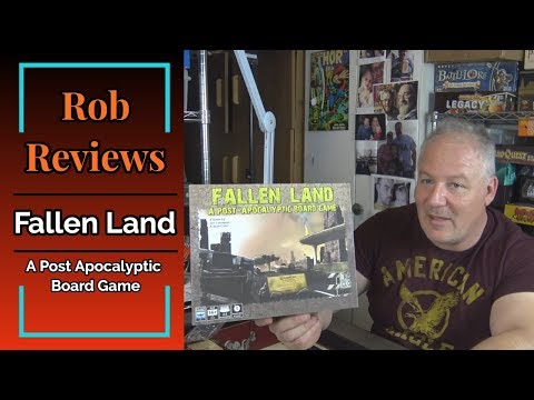 Rob Reviews - Fallen Land: A Post Apocalyptic Board Game