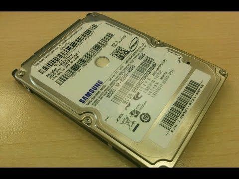 Диагностика жесткого диска Samsung. Обязательно проверяйте винты перед первым включением